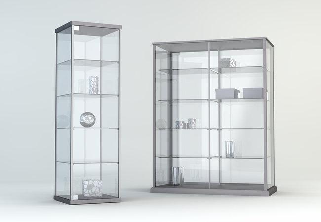 Vitrine Kast Goedkoop.Glazen Vitrinekasten Displays Op Maat Tips Advies