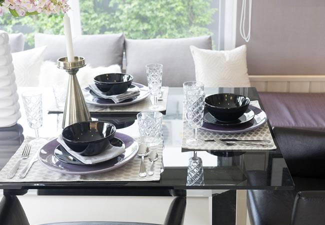 Glazen eettafelblad keukentafelblad op maat prijs soorten